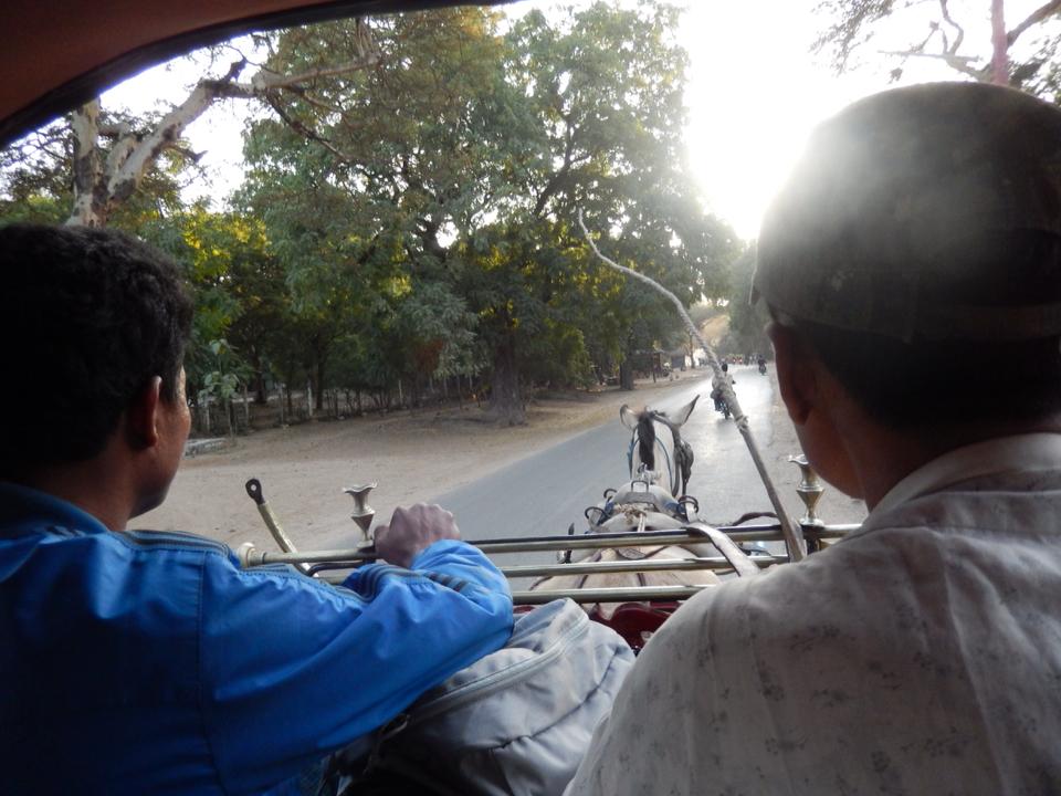 Arrivée à Bagan