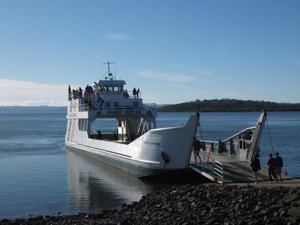 Ferry pour Fraser Island
